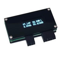 "0.91"" OLED Screen USB 20V10A Voltage Current Meter Power Temperature Battery Capacity Tester"