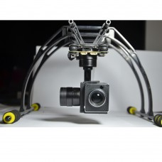 3 Axis Gimbal + Camera Combo 10x HD Optical Zoom Cam for Aerial Video Shooting Photography