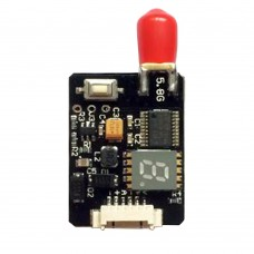 FPV 5.8G Transmitter 40CH Audio Video AV Tx 25-600mW for DJI Quadcopter RC Drone