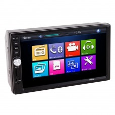 "7"" TFT Car Audio MP5 Player Bluetooth Support Rear View Camera AUX FM USB SD MMC 7012B"