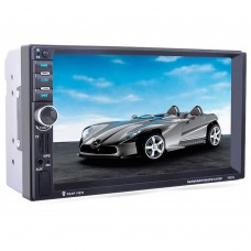 2 Din Car MP5 Player GPS Navigation 7'' HD Bluetooth Stereo Radio FM MP3 MP5 Audio Video USB Auto Radio