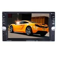 2 Din Car MP5 Multimedia Player 6.6'' HD Bluetooth Stereo Radio FM MP3 MP5 Video Audio USB Autoradio 7652