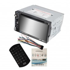 6.2 inch Car DVD CD Audio Video Player 2 DIN Bluetooth Auto Car In Dash FM Radio Receiver Touch Screen SD MMC USB MP3