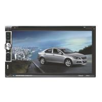 "6.95"" Car DVD CD Player 2-DIN In Dash FM Radio Receiver HD Touch Screen Bluetooth F6063B"