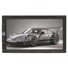 6950 Car DVD Player Stereo Bluetooth Auto Radio Double Din In-dash Stereo Video with Mic Touch Screen Player