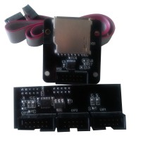 3D Printer Reprap MKS CTR Smart Controller Adapter Module SD Card Slot for LCD12864 LCD2004