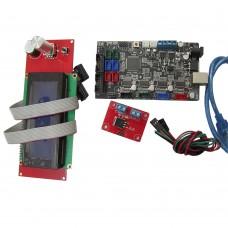 3D Printer Motherboard MKS MINI Control Board + 2004LCD Control Panel + MOS Tube Kit DIY