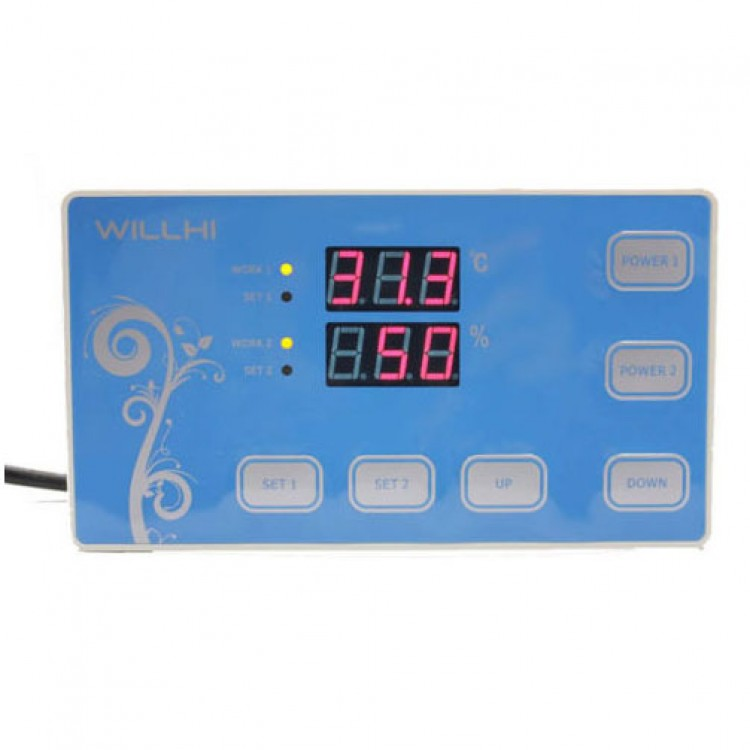 220V Digital Temperature And Humidity Controller Incubator Thermostat W// sensor