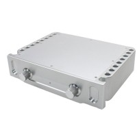 WA69 Preamp Chassis Aluminum Power Amplifier Enclosure Case Shell Box 270x360x86mm