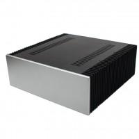 WA68 Chassis Aluminum Power Amplifier Enclosure Case Shell Box 412x430x150mm