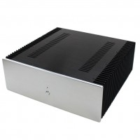 WA67 Preamp Chassis Aluminum Power Amplifier Enclosure Case Shell Box 412x430x150mm