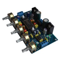 LM4610 + NE5532 HIFI Preamplifier Tone Board Dual Channel Power Amplifier Audio DIY