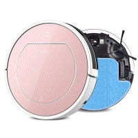 ILife V7S 2 in 1 Smart Robot Vacuum Cleaner for House Wet Dry Clean Water Tank Double Filter Ciff Sensor Self Charge