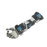 Humanoid Robot Right Hand Arm with Fingers Manipulator & Servo for DIY Robotics