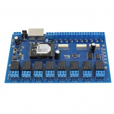 USR-IO88 Wifi Ethernet Controller Network Relay 8CH Input 8CH Output Remote Controller Board