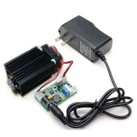 450nm 2W Focusable Blue Laser Diode Module TTL Interface with Power Supply