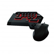 HORI TAC 4 Tactical Assault Commander Keyboard Mouse for PS4 PS3 Gaming PS4-008