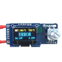 T12 OLED Digital Soldering Iron Station Temperature Controller STC Board with Plate for HAKKO