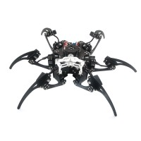 20DOF Aluminium Hexapod Robotic Spider Six Legs Robot Frame Kit (fully compatible with Arduino)