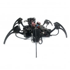 20DOF Aluminium Hexapod Robotic Spider Six Legs Robot Frame Kit w/ 20pcs Servo horn (fully compatible with Arduino)