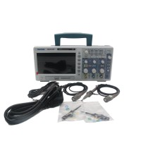 Hantek DSO5102P Digital Oscilloscope 100MHz 2Channels 1GS/s 7'' TFT LCD 800x480 Record Length 24K USB AC110-220V