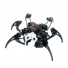 Assembled 20DOF Aluminium Hexapod Robotic Spider Six Legs Robot with Claw & LD-1501 Servos & Controller