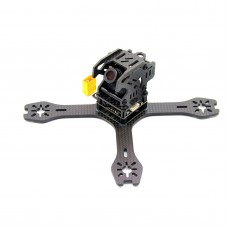 REPTILE-RX130 130mm Mini 4-Axis Carbon Fiber FPV Quadcopter Frame with XT60 PDB