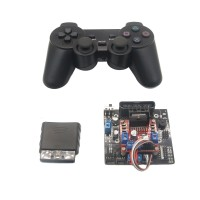 6CH Servo Controller + 2CH Motor Control Bluetooth Handle Remote Control for RC Tracked Vehicle Robot