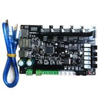 3D Printer 32bit Arm Platform Smooth Control Board MKS SBASE V1.3 Open Source MCU-LPC1768 Support Ethernet Preinstalled Heatsink