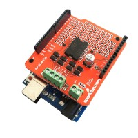 L298P Dual Channel Motor Driver Shield DC Stepper Driver Board For Arduino