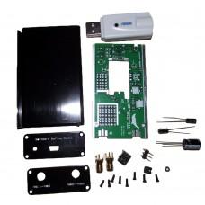 Receiver 100KHz-1.7GHz Full Band UV HF RTL-SDR USB Tuner DIY KITS + UV Antenna DIY