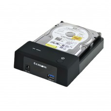 "HDD Docking Station USB3.0 Interface Support SATA 2.5"" 3.5"" HDD External Storage Enclosure"