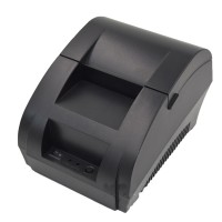 Thermal Printer 58mm Thermal Receipt Printing USB POS Printer for Restaurant Supermarket ZJ 5890K
