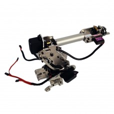 6DOF Mechanical Robot Arm Claw with Servo for Arduino Robotics DIY Kit Unassembled