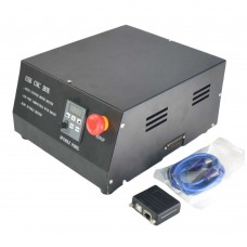 USB CNC Router Box 4 Axis Stepper Motor Driver Controller + NC200 Adapter for MACH3 Engraving Machine