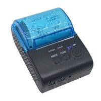 Thermal Printer Bluetooth 4.0 58mm Wireless Printing for Restaurant Supermarket