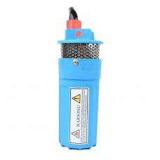 Solar Powered Submersible Deep Well Water Pump DC12V 230ft Lift for Farm Ranch Household