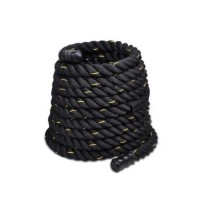 "1.5"" Poly Dacron 30ft Battle Rope Exercise Workout Strength Training Undulation for Body Building"