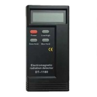 """2.3"""" LCD Digital Electromagnetic Radiation Detector ERD High Low Electromagnetic Wave Frequency Tester DT1180"""