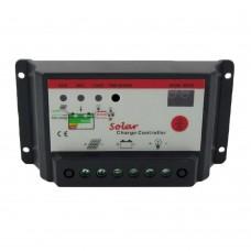 Solar Charge Controller 10A 12V 24V PWM Solar Panel Regulator Time Light Control for Lighting
