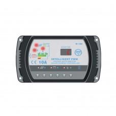 PWM Solar Charge Controller 10A 12V 24V PV Panel Regulator Time Control for Light