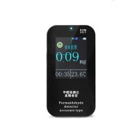Formaldehyde Detector Monitor Indoor Air Quality Gas Detector Concentration Meter Clock Thermometer