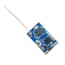 FUTABA SFHSS 8CH 2.4Ghz RC Micro Receiver with PPM Output 8CH PPM Built in Brushed ESC for FPV Quadcopter Drone