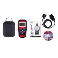 KW808 OBD2 OBDII EOBD Auto Scanner Car Diagnostic Live Data Code Reader Engine Control for CAN & OBD2 Protocols