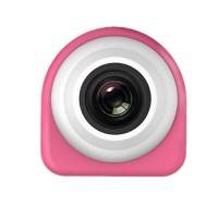 Mini Sports Camera 8MP CMOS 1080P HD Self Timer Camcorder Wifi Action Video Cam Pink