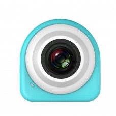 Mini Sports Camera 8MP CMOS 1080P HD Self Timer Camcorder Wifi Action Video Cam Blue