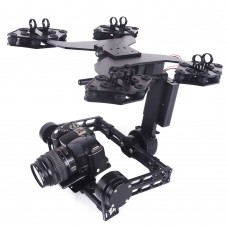 MOY G6 Plus Brushless 3 Axis Gimbal 32bit Camera Stabilizer Gyroscope for DSLR Camera Aerial Photography