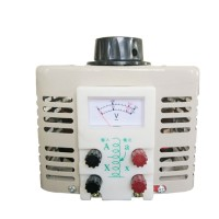 Transformer Contact Type Single Phase Voltage Regulator Adjustable 2000W 0-250V TDGC2-2KVA