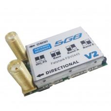 Fatshark 5.8G 32CH Diversity Receiver with Dual Antenna for Fat Shark FPV Goggles FSV2445
