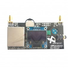 RX5808 5.8G 40CH Diversity FPV Receiver Active with OLED Display for FPV Racer Quadcopter DIY Improved Version